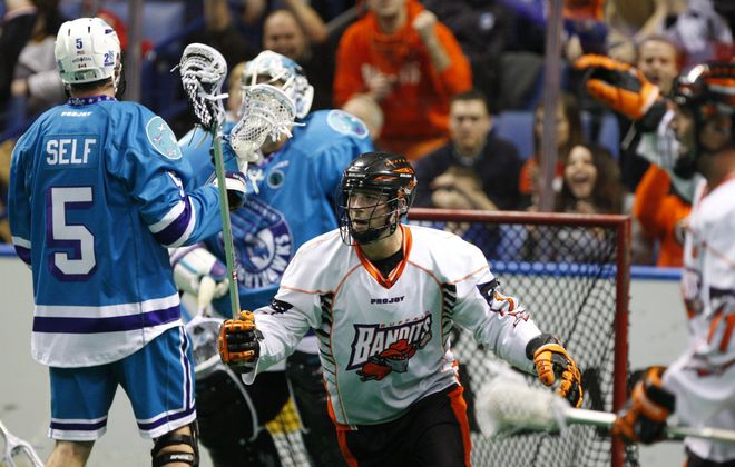 Bandits forward Ryan Benesch (17) has been a great addition to the team's roster so far this season.