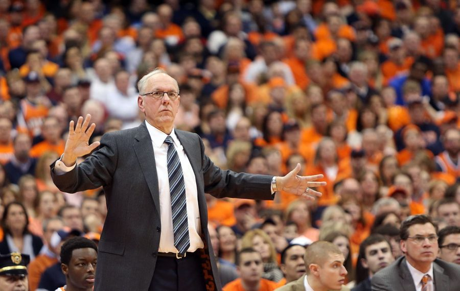 The softer side of Syracuse coach Jim Boeheim comes out in a documentary on the Big East Conference.