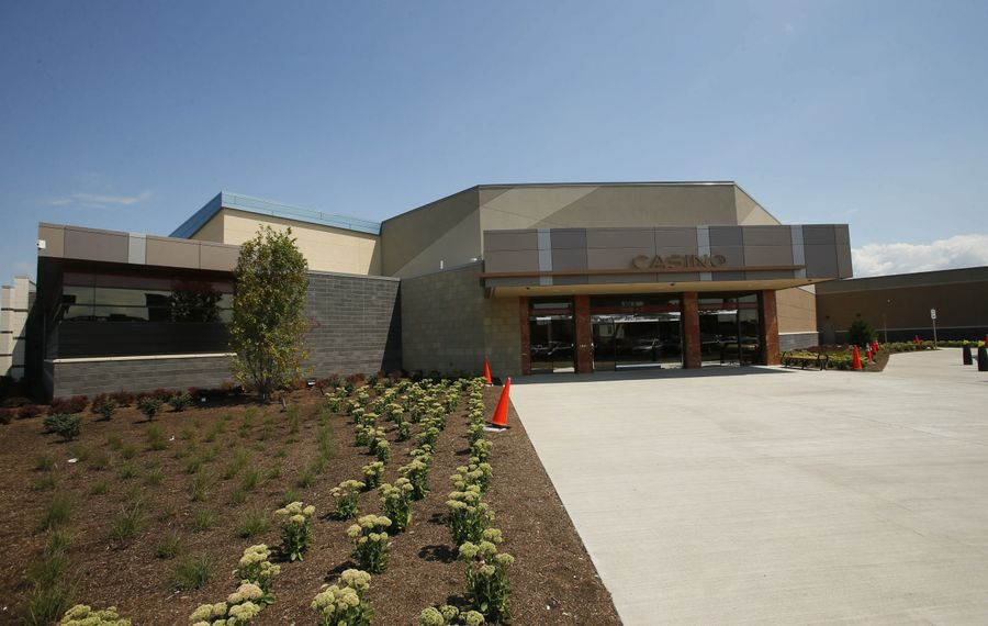 Although it's not fully completed, the new Seneca Buffalo Creek Casino opened for business ahead of schedule.