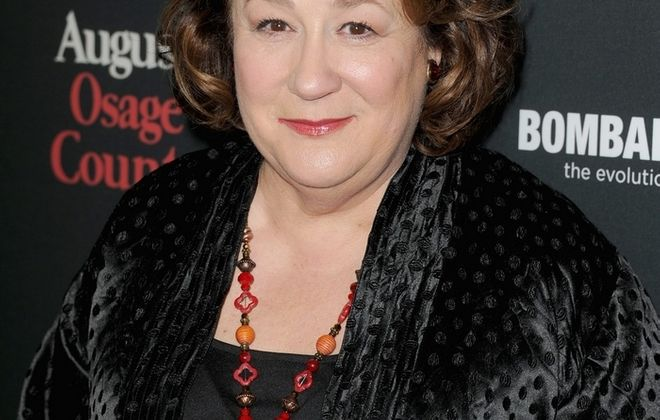 "LOS ANGELES, CA - DECEMBER 16:  Actress Margo Martindale attends the Premiere of The Weinstein Company's ""August: Osage County"" at Regal Cinemas L.A. Live on December 16, 2013 in Los Angeles, California.  (Photo by Kevin Winter/Getty Images)"