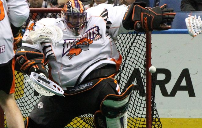 Bandits goalie Anthony Cosmo stopped 52 of 62 shots by the Toronto Rock. For a photo gallery from the game, go to BuffaloNews.com.