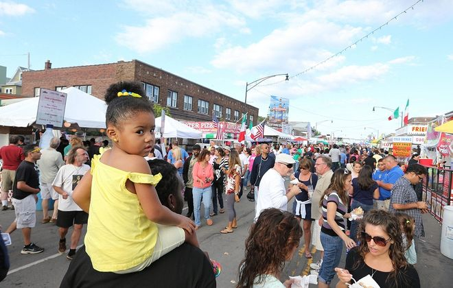 The Italian Festival is just the beginning of Western New York's festival schedule this weekend. (Charles Lewis/Buffalo News)
