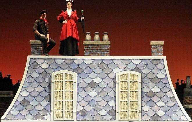 "John Barsoian and Emilie Renier star in Artpark's production of ""Mary Poppins."""
