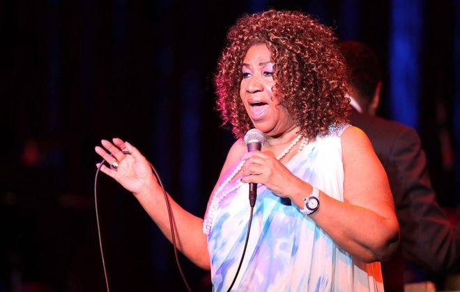 Aretha Franklin will likely get the chance to rekindle a relationship with a childhood friend at her concert in Lewiston. (Harry Scull Jr. / Buffalo News file photo)