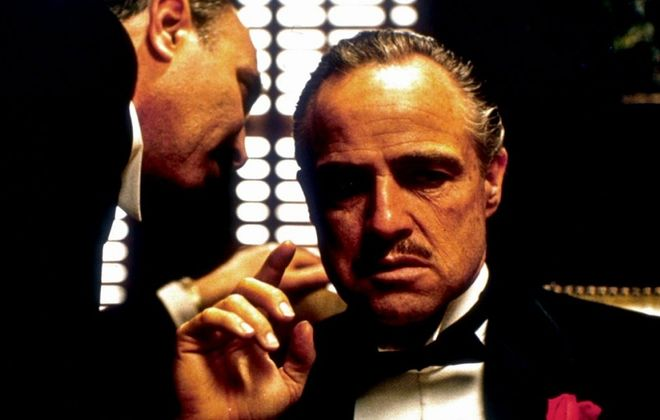 """A scene from """"The Godfather,"""" which will be shown at North Park Theatre during the Italian Heritage Festival."""