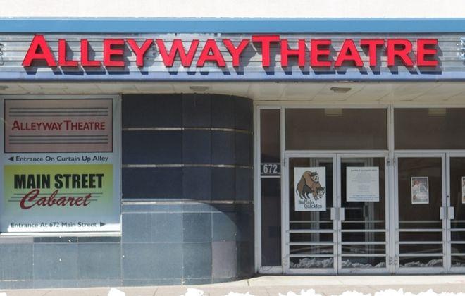 Buffalo United Artists will call Alleyway Theatre home for the 2014-15 season. (Sharon Cantillon/Buffalo News)
