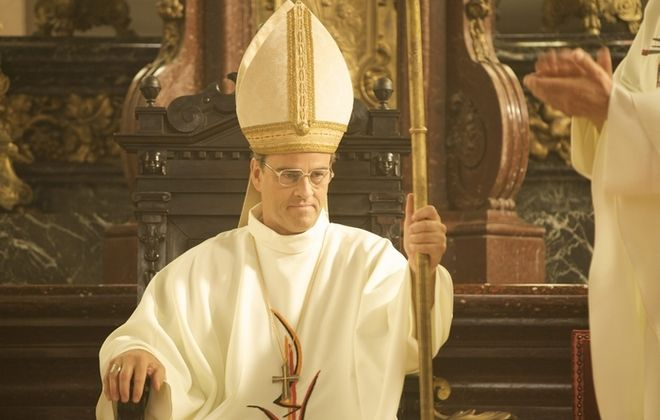 """Jean-Marie Lustiger (played by Laurent Lucas) in """"The Jewish Cardinal."""""""