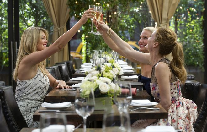 """From left, Kate Upton, Cameron Diaz and Leslie Mann play women on a mission in """"The Other Woman."""""""