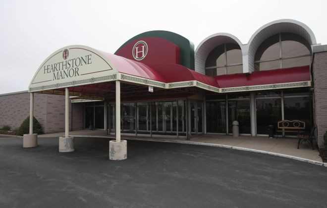 Hearthstone Manor on Dick Road in Cheektowaga is being sold to the owners of the Grapevine Restaurant and renamed Grapevine Banquets.