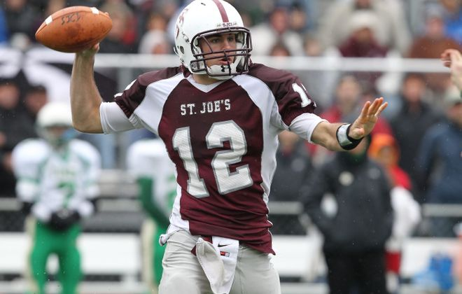 Chad Kelly was a top college prospect during his scholastic career at St. Joe's.