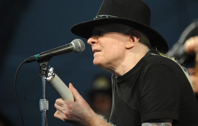 """""""True to the Blues"""" paints a portrait of Johnny Winter as all but peerless electric blues guitar player, soulful singer and groundbreaking artist. (Getty Images)"""