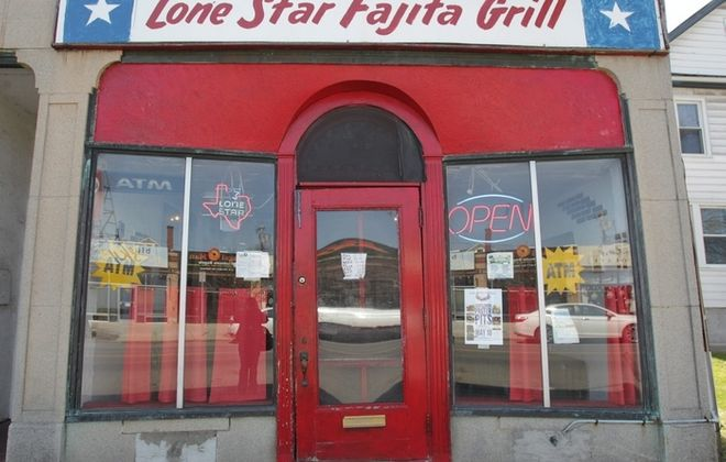The Lone Star Fajita Grill is a no-frills restaurant. (Sharon Cantillon/Buffalo News)