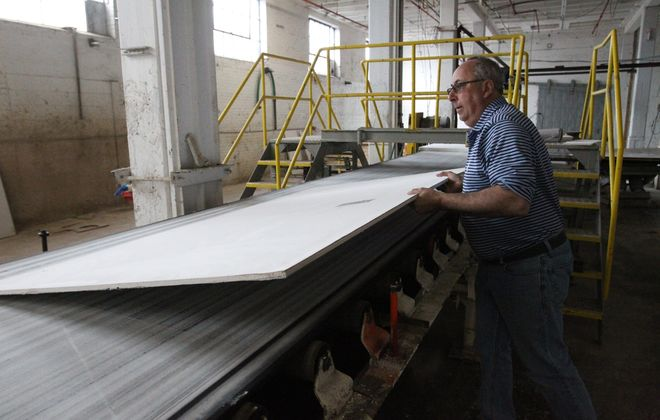 Ronald J. Voit invented Forever Board, a dry wall building material that he is marketing as an alternative to gypsum boards.