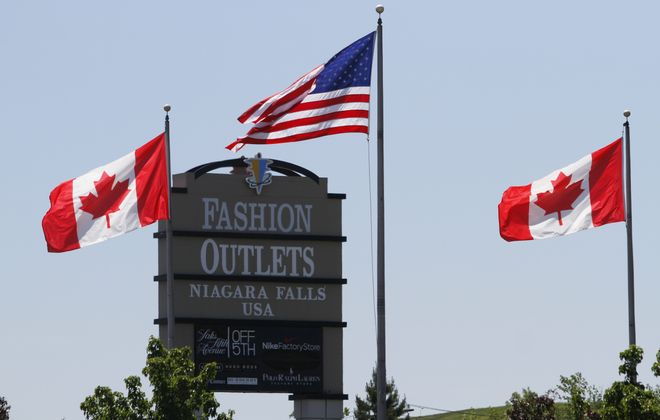 Fashion Outlets of Niagara Falls is undergoing a massive renovation.