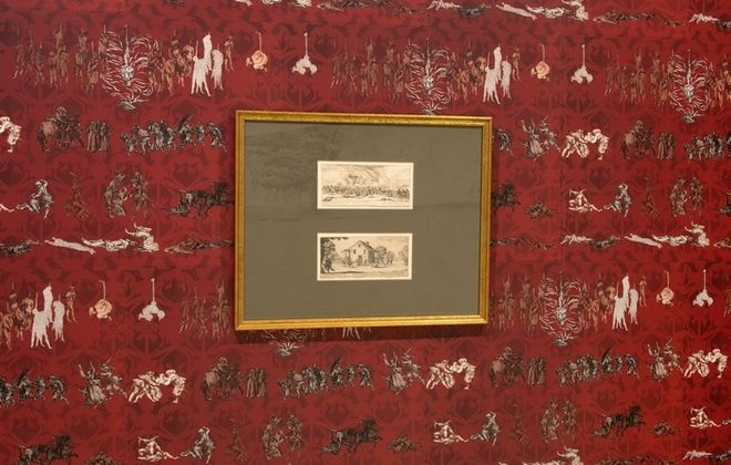 """""""Millie Chen: The Miseries and Vengeance Wallpapers"""" is on view in the Albright-Knox Art Gallery."""