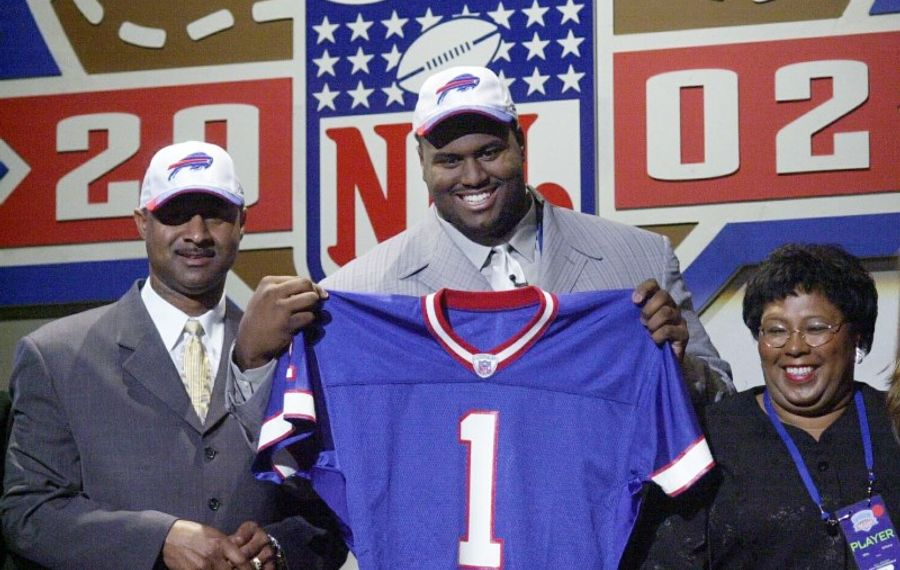 Offensive lineman Mike Williams was one of the biggest busts in Bills draft history. (Associated Press file photo)