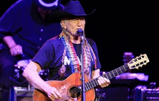 Willie Nelson performs at Artpark on, Saturday, June 7, 2014.(Photo by Harry Scull Jr. /Buffalo News)