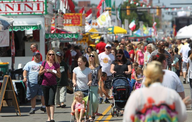 The Italian Festival is one of the many festivals that pack our summer. (Sharon Cantillon/Buffalo News file photo)