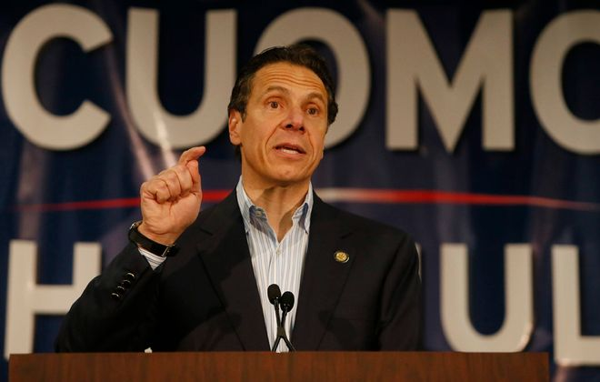 "Governor Andrew Cuomo is reportedly coming to Buffalo Tuesday for a ""five digit"" fundraiser. (Derek Gee/Buffalo News file photo)"