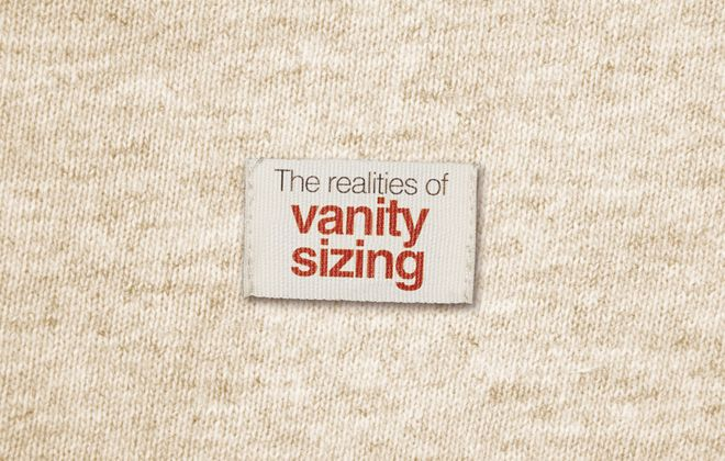 The realities of vanity sizing