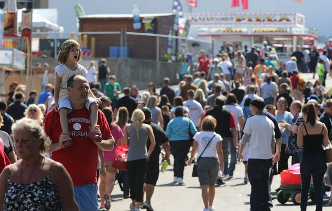 Erie County Fair draws crowds to Hamburg for two weeks each summer. (Buffalo News file photo)
