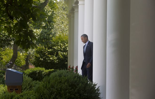 In June President Obama headed to the White House Rose Garden to announce he will take executive action on immigration reform. (New York Times)