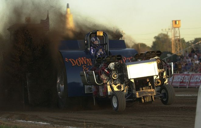The Lucas Oil Tractor Pull is an annual tradition at the Erie County Fair. (Charles Lewis / Buffalo News file photo)