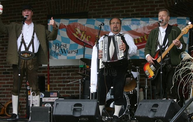 The Frankfurters, a local German-American show band, will entertain during the lunch hour. (Charles Lewis / Buffalo News file photo)