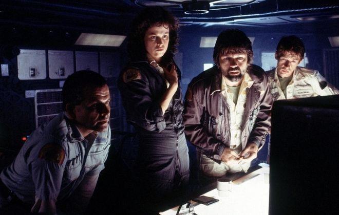"""Ridley Scott's original """"Alien"""" will be shown at the Screening Room Cinema Cafe."""