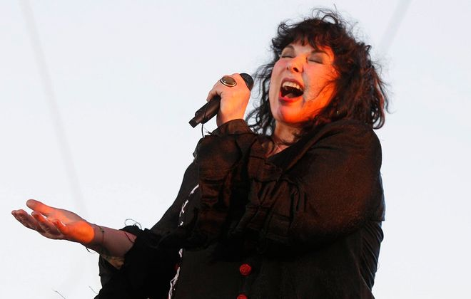 From 'Magic Man' to 'Crazy on You,' Heart lead singer Ann Wilson and her sister, Nancy, impressed at Artpark on Tuesday. (Harry Scull Jr. / Buffalo News file photo)