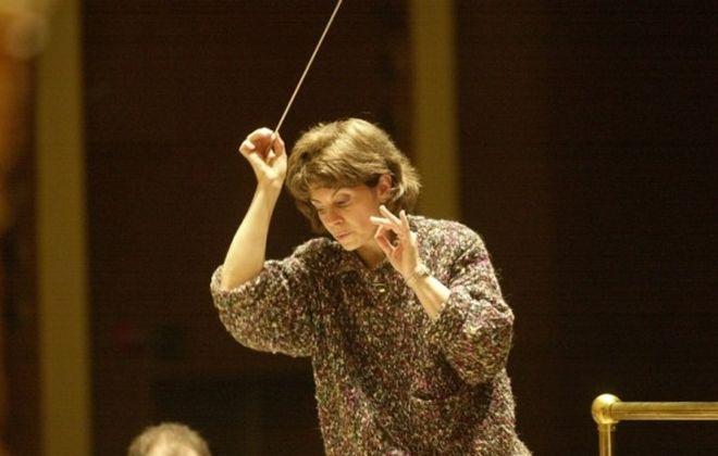 JoAnn Falletta of the Buffalo Philharmonic Orchestra. (Robert Kirkham/Buffalo News file photo)