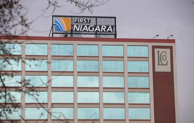 First Niagara growing, Moog rising, brass plant sold, UB students shine, and real estate deals...