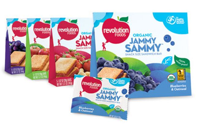 Free Samples and Coupons from Revolution Foods