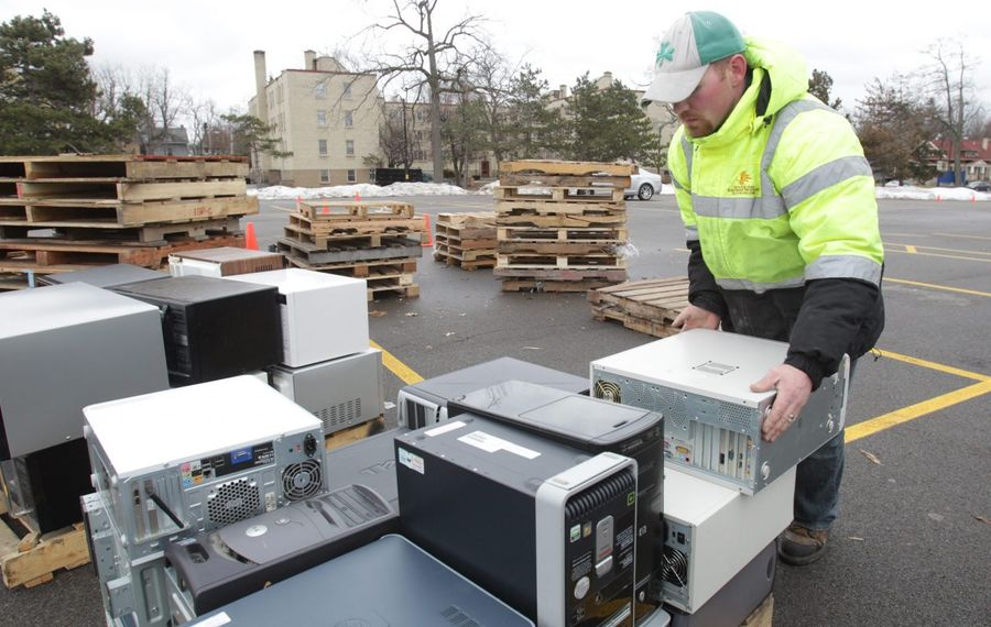 Buffalo's trash pickup one day later; Christmas tree recycling available