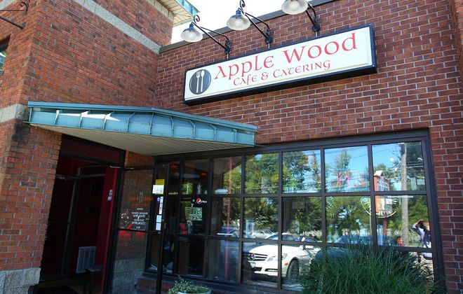 The exterior of Apple Wood Cafe in Williamsville. (Mark Mulville / Buffalo News)