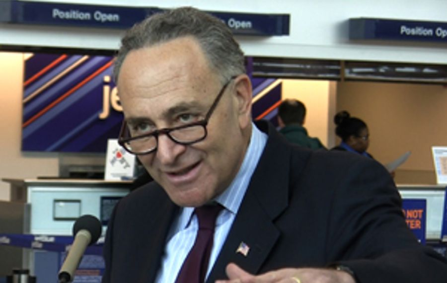 Schumer to feds: Bring new technology to Buffalo airport