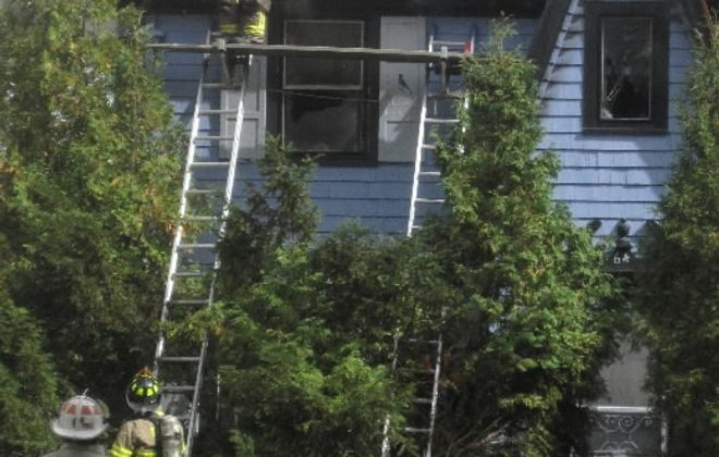 Fire causes heavy damage to Snyder home