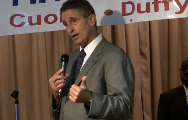 Cuomo's running mate pledges to represent upstate NY interests