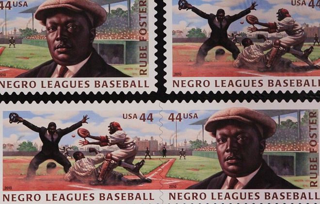 The powerful heritage of Negro League Baseball is the focus of a film showing at Burchfield Penney. (Associated Press)