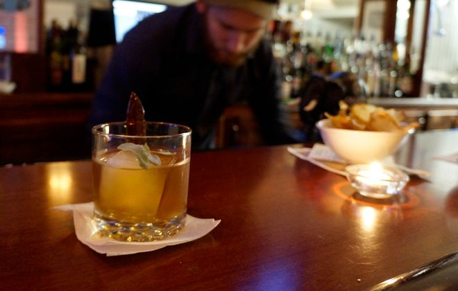 Where Eagles Dare from Winfield's Pub, the focus of Lizz Schumer's cocktail review. (Lizz Schumer / Special to the News)