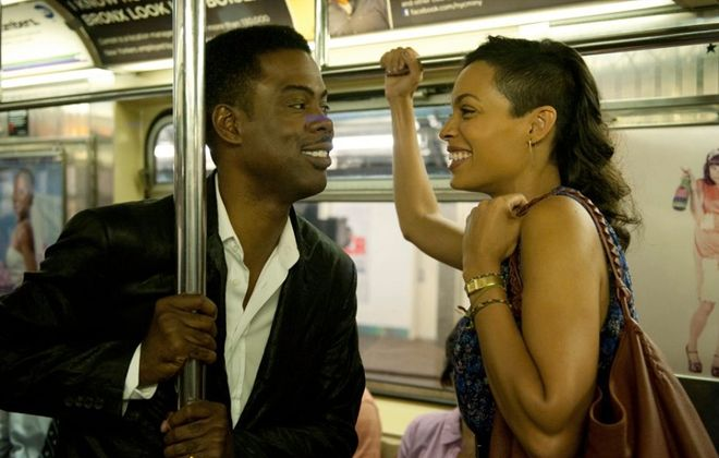 """Chris Rock directed and stars in """"Top Five,"""" a film that was well-received at the Toronto International Film Festival. Rosario Dawson co-stars."""