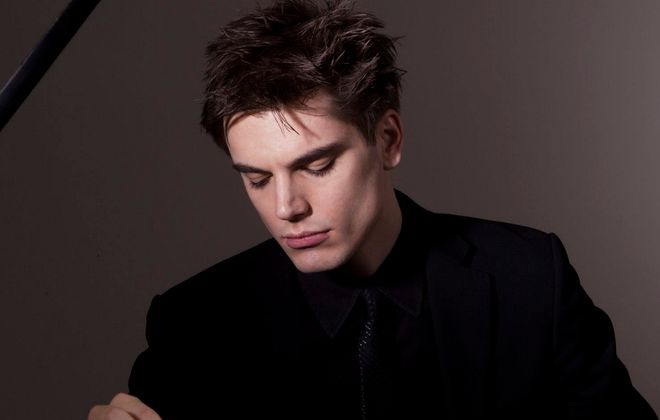 """""""Poet of the piano"""" will perform his recital in the Mary Seaton Room of Kleinhans Music Hall."""