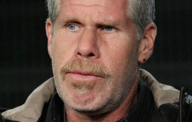 Actor Ron Perlman has a face to remember.
