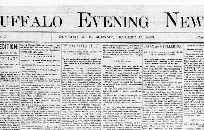 Oct. 11, 1880: The Buffalo Evening News' inaugural edition