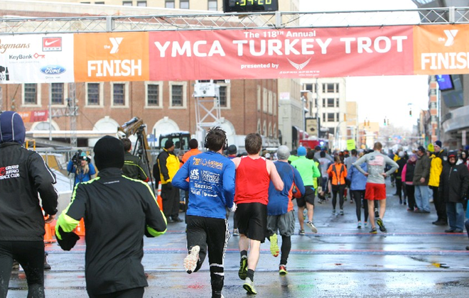 Registration closed Tuesday morning for the Buffalo Turkey Trot after all 14,000 spots were taken. (Sharon Cantillon/Buffalo News file photo)