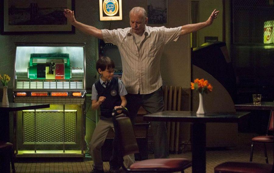 """Jaeden Lieberher and Bill Murray star in """"St. Vincent."""""""