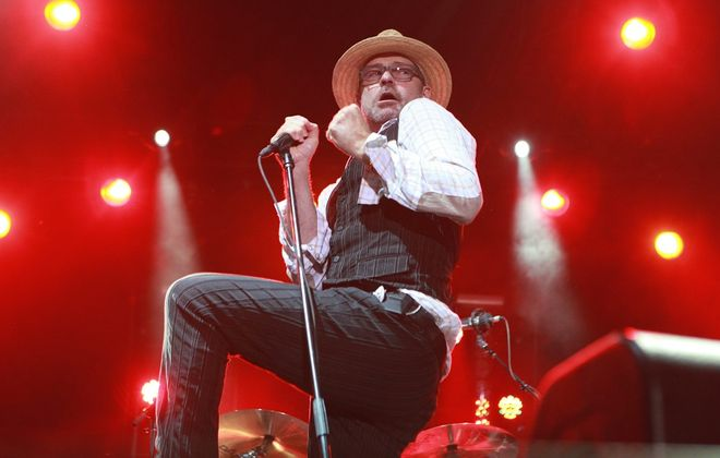Gord Downie and the Tragically Hip will roll to Buffalo in spring 2015. (Sharon Cantillon / Buffalo News file photo)