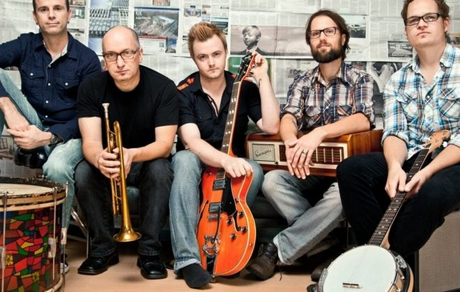 Jubilee Riots, featuring members of Enter the Haggis, perform Nov. 15 in Waiting Room.