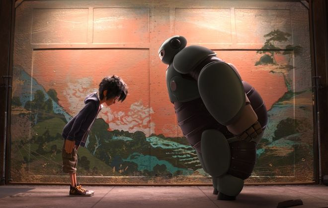 Leave your snowy confines to see 'Big Hero 6' in local theaters.
