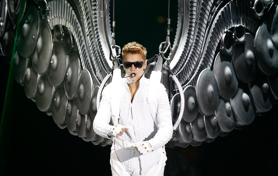 Justin Bieber, pictured here in a 2013 concert in Buffalo, will return to KeyBank Center in 2020. (Harry Scull/News file photo)
